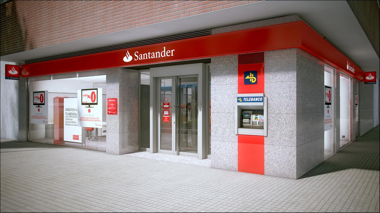 Banco Santander Fachada