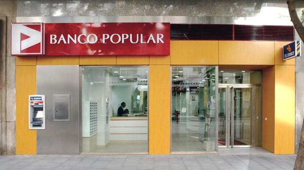 fachada Banco Pupular en O´Donnell