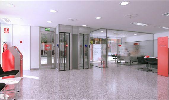 Banco Santander HAll