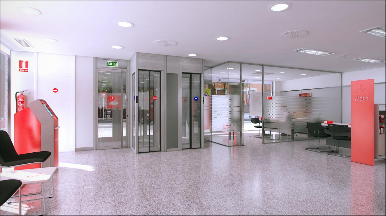 Banco Santander Entrada