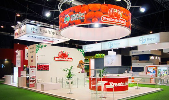 Diseño interior de stands