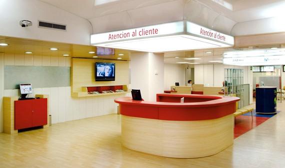recepción banco popular nuevo diseño